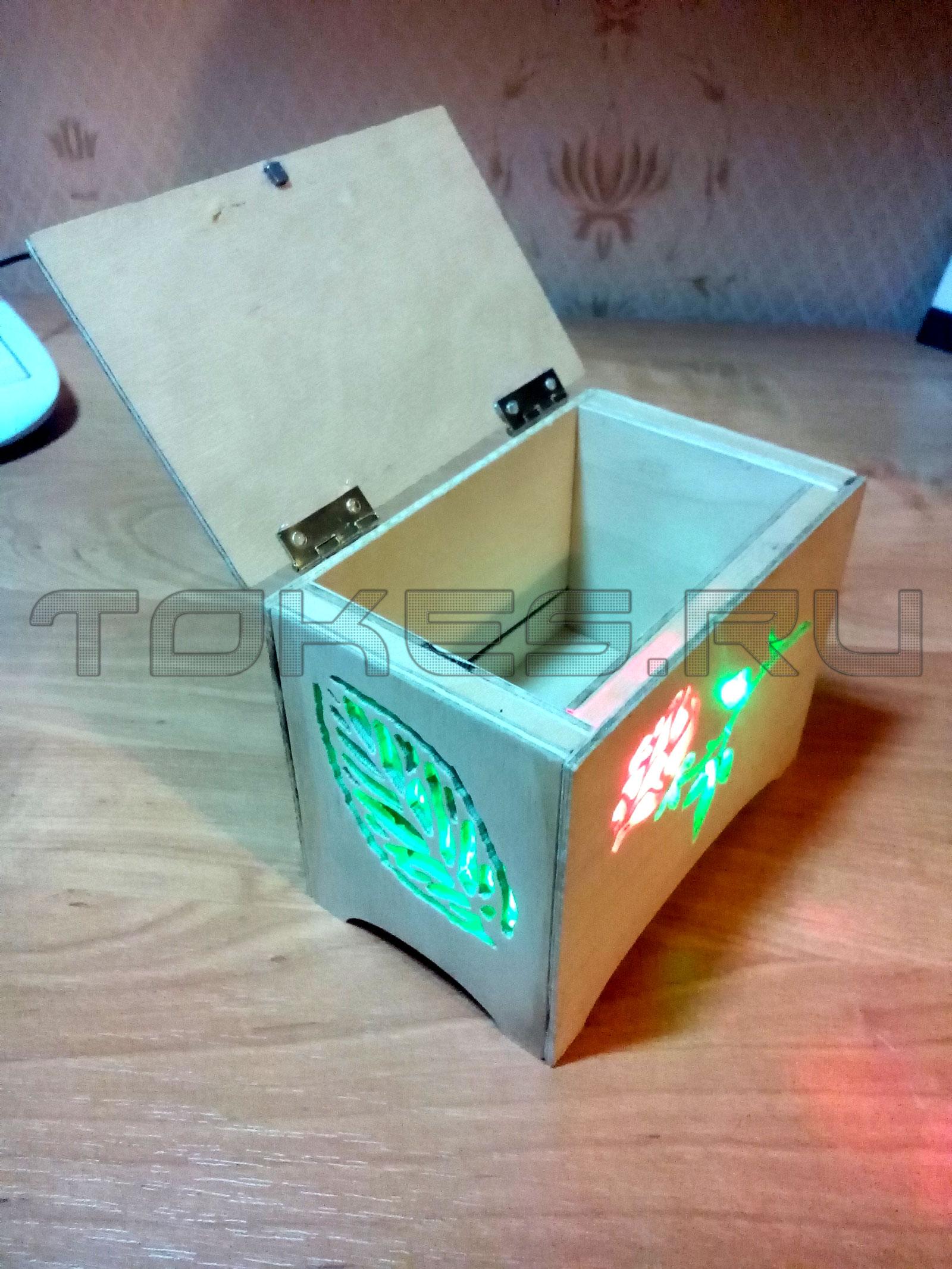 Как сделать коробочку с секретами своими руками