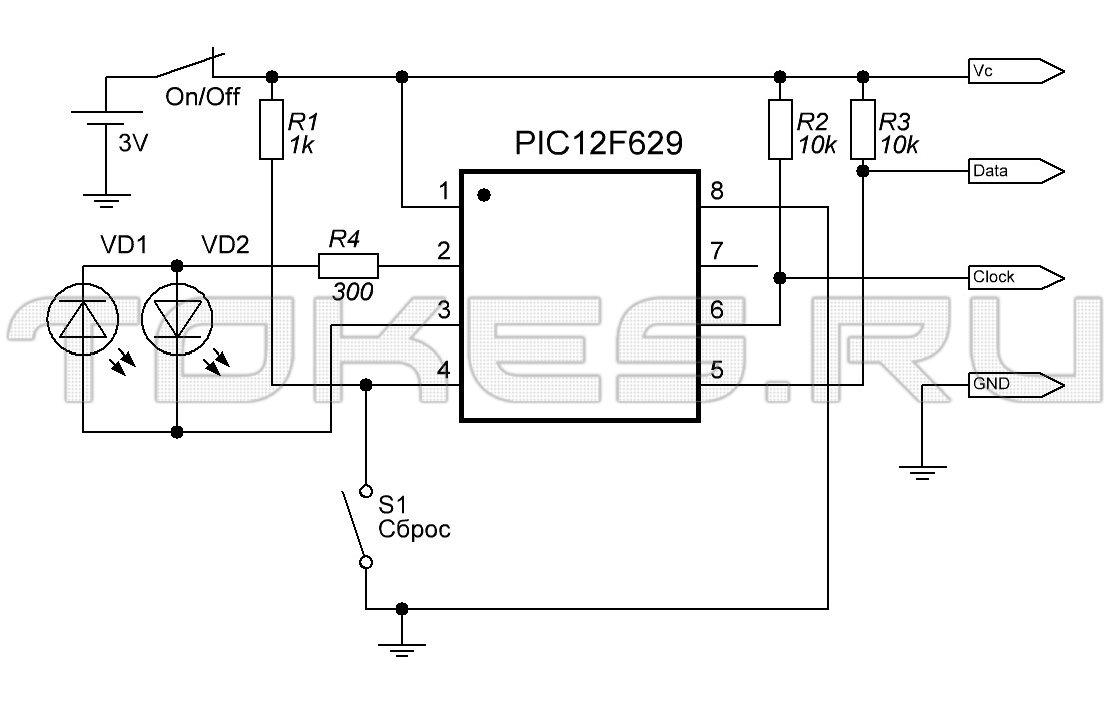Схема обнулятора Samsung 4200,
