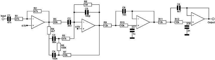 Схема спикерсимулятора Marshal