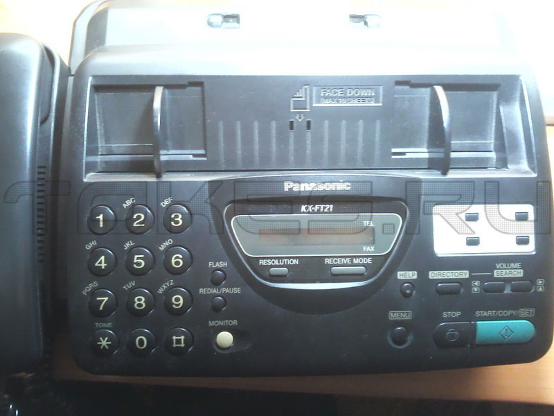 Факс Panasonic KX-FT21
