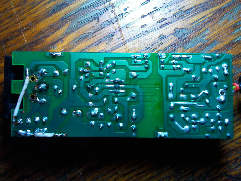 PCB from power supply for HDD