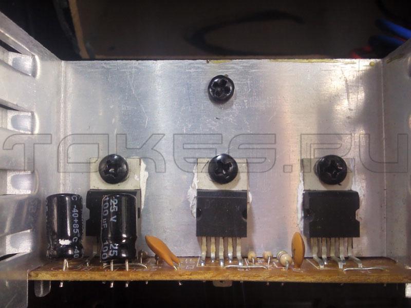 ИС в Microlab M-400II