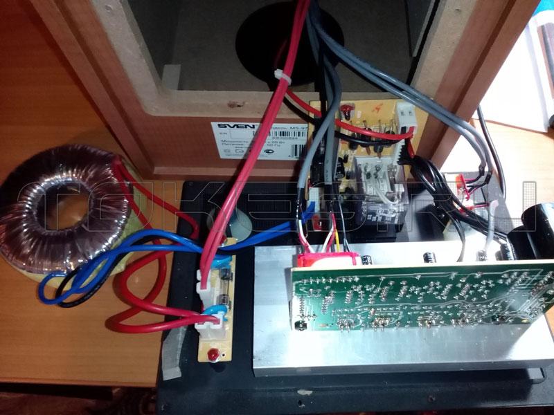 Ремонт компьютерного сабвуфера своими руками 57